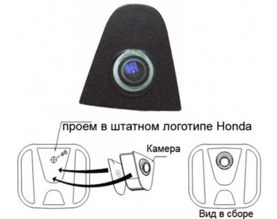 Фронтальная камера для Honda Element (03-11 г.в.)