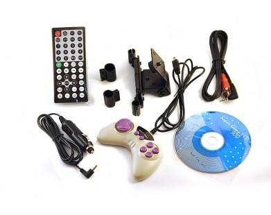 Комплект навесных мониторов на подголовник ERGO ER9D (серый)