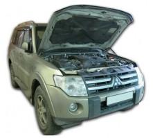 Упоры капота для Mitsubishi Pajero IV от 2006 г.в.