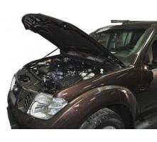 Упоры капота для Nissan Navara от 2007 г.в.