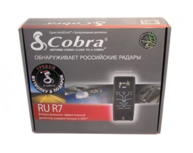 Радар-детектор Cobra RU R7