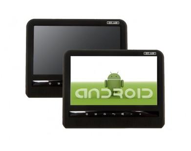 """Комплект сенсорных навесных мониторов 9"""" на подголовники  ERGO ER9AT на базе Android (2 шт.)"""