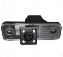 Камера заднего вида для Hyundai Santa Fe (OV7950) 170 NTSC (Silver Star)