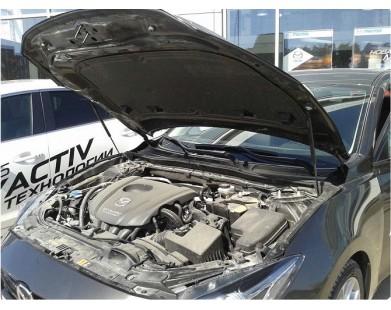 Упоры капота для Mazda 3 от 2013 г.в.