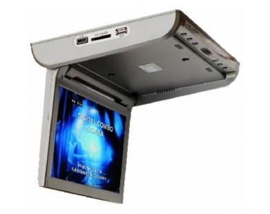 Потолочный монитор Intro 10 дюймов (TV, DVD, USB, HDMI)
