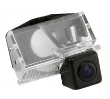 Камера заднего вида с динамической разметкой Pleervox для Toyota Corolla E12 с 2001 по 2006 года выпуска