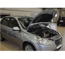 Упоры капота для Datsun mi-DO от 2014 г.в.