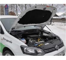 Упоры капота для Volkswagen Polo Sedan от 2010 г.в.