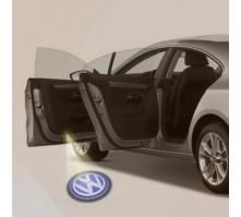 Подсветка дверей с логотипом Volkswagen (2 шт., в штатные места)