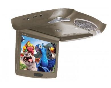 Потолочный монитор с DVD (12,1 дюймов, бежевый) ERGO ER12M