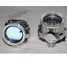 Маска Morimoto H1 для биксеноновых линз 2.5 дюйма с глазками