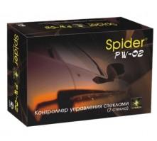 Доводчик на 2 стекла Spider PW-02