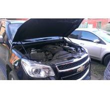 Упоры капота для Chevrolet Trailblazer II от 2012 г.в.