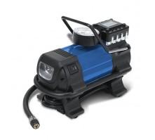 Автомобильный компрессор URAL AC-1380 с адаптером