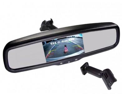 Зеркало с монитором Pleervox PLV-MIR-50STCBL для Toyota (экран 5 дюймов, Bluetooth)