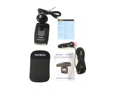 Видеорегистратор INTEGO VX-460R с радар-детектором