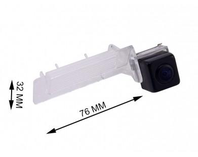 Камера заднего вида с динамической разметкой Pleervox для Volkswagen Polo sedan, Touareg 2010-, Touran 2010-, Jetta 2010-