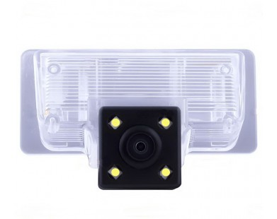 Камера заднего вида для Nissan Tiida (Silver Star)