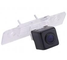 Камера заднего вида с динамической разметкой Pleervox для Skoda Octavia, Roomster