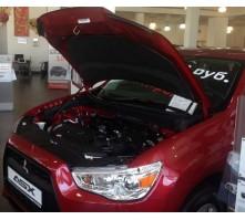Упоры капота для Mitsubishi ASX от 2012 г.в.