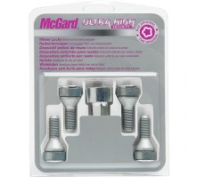Комплект секретных болтов McGard 27204 SL M12x1,5 (4 болта, ключ 17 мм)