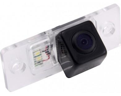 Камера заднего вида с динамической разметкой Pleervox для Volkswagen Touareg до 2010 года выпуска, Tiguan