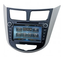 Штатная магнитола Incar AHR-2481SL на базе Android для Hyundai Solaris (2010 - 2013 г.в.)