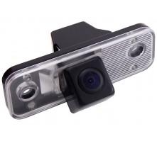 Камера заднего вида с динамической разметкой Pleervox для Hyundai Santa Fe от 2006 до 2012 г.в