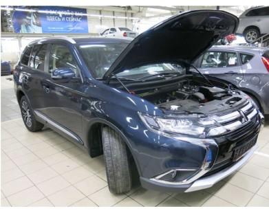 Упоры капота для Mitsubishi Outlander от 2015 г.в.