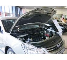 Упоры капота для Nissan Almera от 2013 г.в.