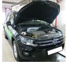 Упоры капота для Volkswagen Tiguan от 2011 г.в.