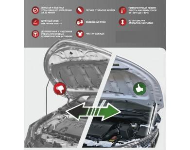 Упоры капота для Suzuki SX4 от 2013 г.в.