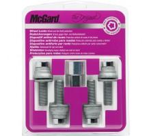 Комплект секретных болтов McGard 26001 SU M12x1,25 (4 болта, ключ 19 мм)