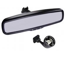 Зеркало Pleervox PLV-MIR-43ST с монитором и крепежом для Skoda (экран 4.3 дюйма)