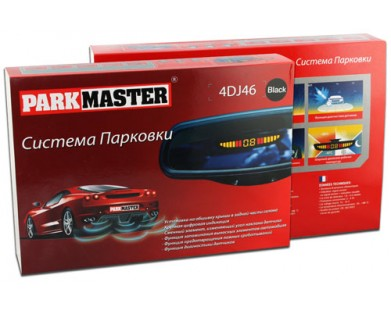 Парктроник ParkMaster 4DJ46 Black
