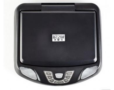 Потолочный монитор с DVD  (11 дюймов, черный) ERGO ER11K