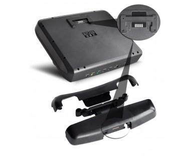 Навесной монитор на подголовник со встроенным DVD плеером ERGO ER9X1D (бежевый)
