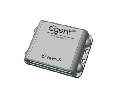 ГЛОНАСС/GPS-трекер AGENT Brown-B