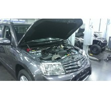 Упоры капота для Suzuki Grand Vitara 2012 - 2015 г.в.