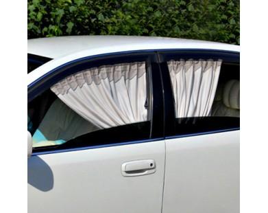 Автомобильные шторки Автолэнд кофейные (размер M)