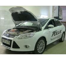 Упоры капота для Ford Focus 3 от 2011 г.в.
