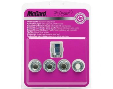 Комплект секретных гаек McGard 24012 SU M12х1,5 (4 гайки, ключ 19/21 мм)