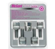 Комплект секретных болтов McGard 26002 SL M12x1,25 (4 болта, ключ 17 мм)