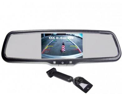Зеркало с монитором Pleervox PLV-MIR-50STC для Honda (экран 5 дюймов)