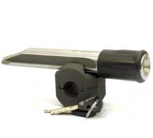 Замок Гарант Блок Люкс для RENAULT MEGANE III, 3-е поколение,  2013 г.в., с рулевым валом Ф16,6 мм