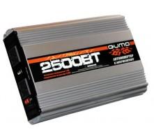 Преобразователь напряжения QUMO 12-220В 2500Вт