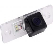 Камера заднего вида с динамической разметкой Pleervox для Volkswagen Golf 6, Polo (хетчбэк), Scirocco, Passat B7