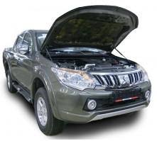 Упоры капота для Mitsubishi L200 от 2015 г.в.