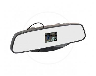 Парктроник Silver Star 038.0060.000 (8 черных датчиков) с индикацией на зеркале