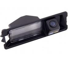 Камера заднего вида с динамической разметкой Pleervox для Renault Logan